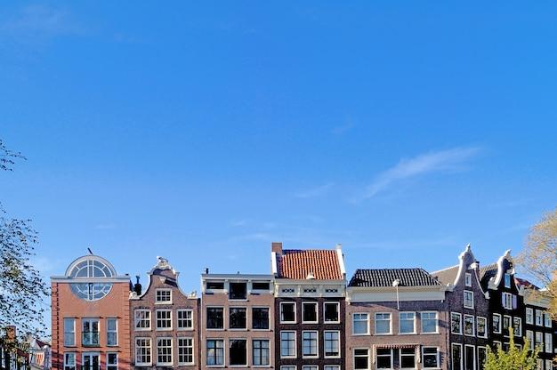 Arquitetura, de, amsterdão Foto Premium