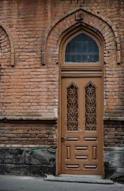 Arquitetura de old tbilisi Foto Premium