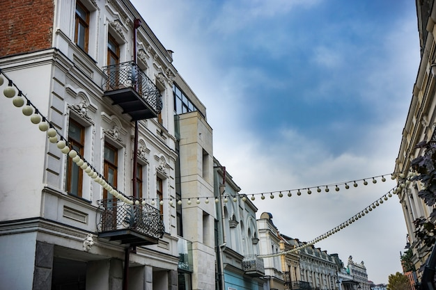 Arquitetura de tbilisi Foto Premium