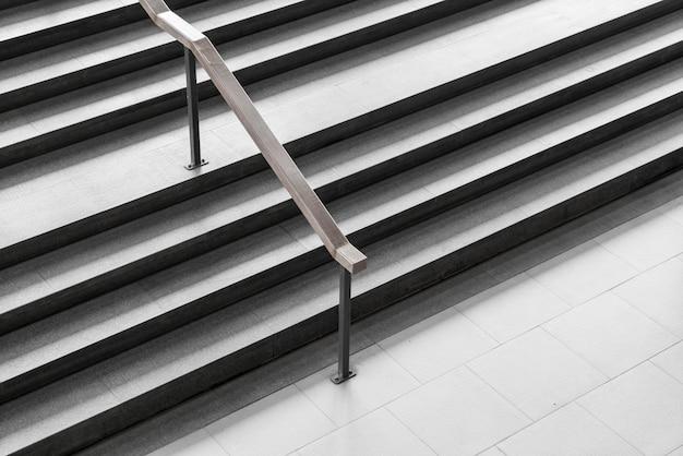 Arquitetura do design da escada Foto Premium