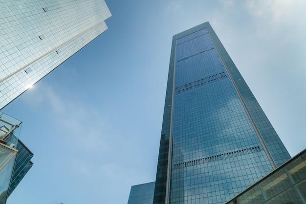 Arranha-céus na área comercial, chongqing Foto Premium