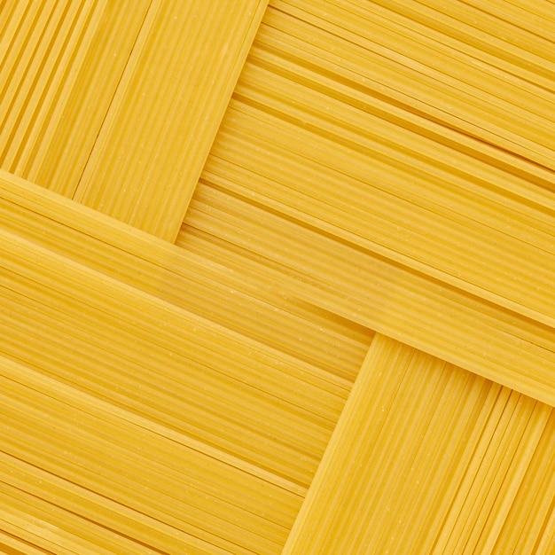 Arranjo geométrico de espaguete cru Foto gratuita