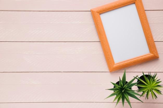 Arranjo minimalista de quadros com espaço de cópia Foto gratuita