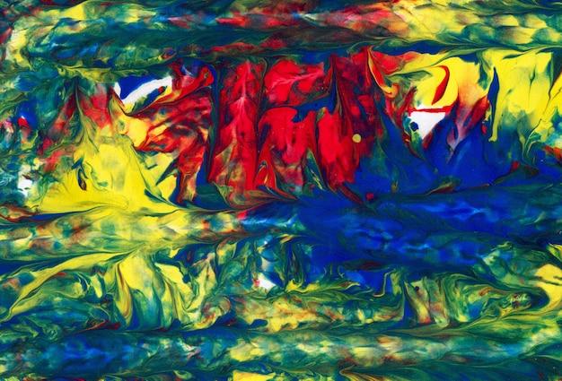 Arte abstrata. criativo mão pintado o fundo, papel de parede, textura. Foto Premium