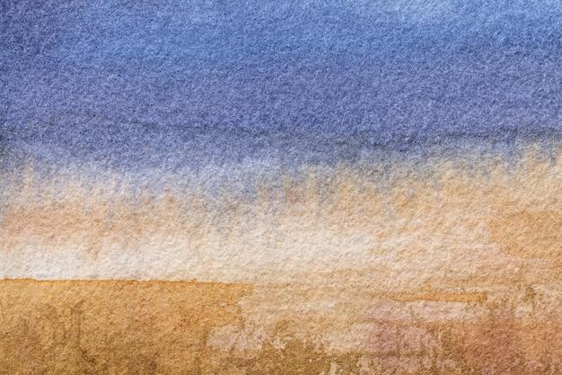 Arte abstrata de fundo cores azuis e marrons Foto Premium