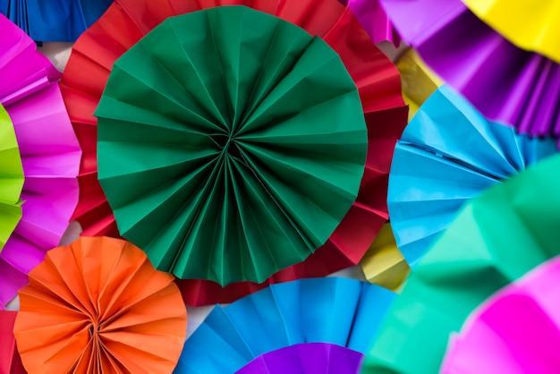 Arte de papel colorido Foto Premium