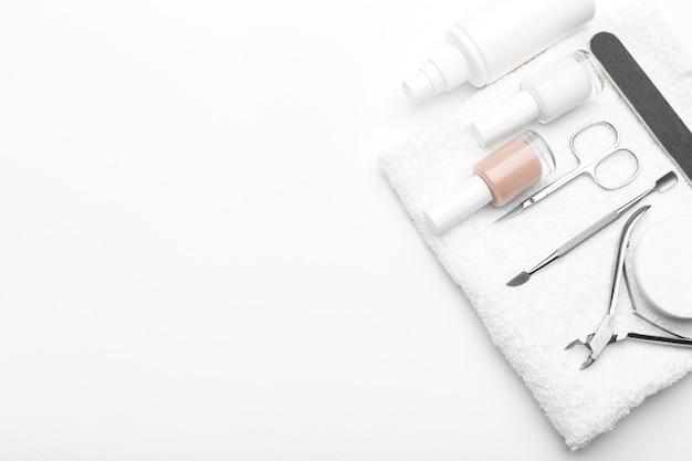 Artigos de manicure e pedicure Foto Premium