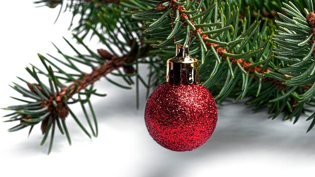 Árvore de natal decorada Foto Premium