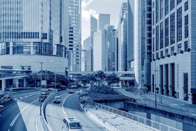 As ruas de hong kong Foto Premium