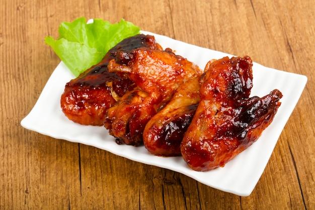 Asas de frango Foto Premium