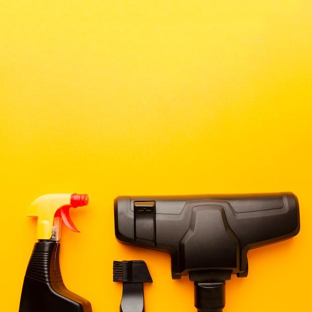 Aspirador e frasco de spray Foto Premium