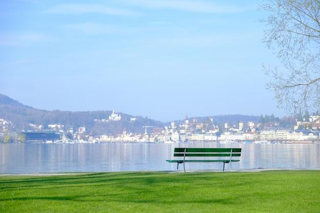 Assento para olhar a vista. Foto Premium