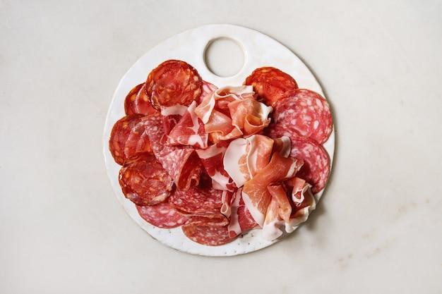 Assorti prato de carne Foto Premium