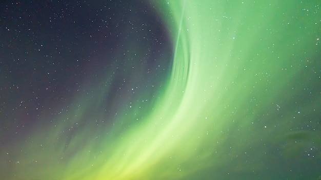 Aurora boreal colorida no céu Foto Premium