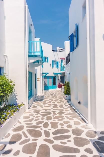 Azul grécia verão europa egeu Foto gratuita