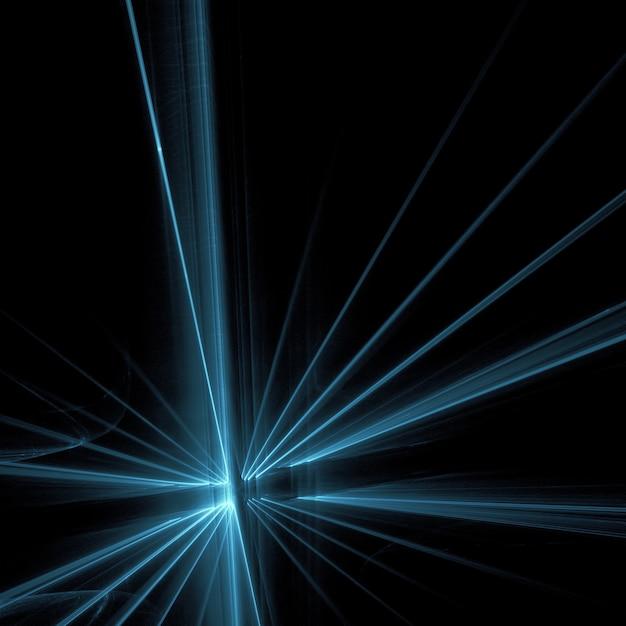 Azul luz raia raios wallpaper Foto gratuita