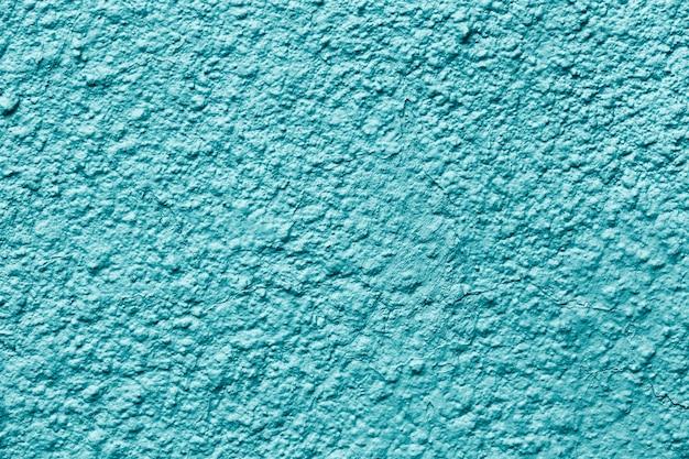 Azul pintado fora da parede do edifício Foto gratuita