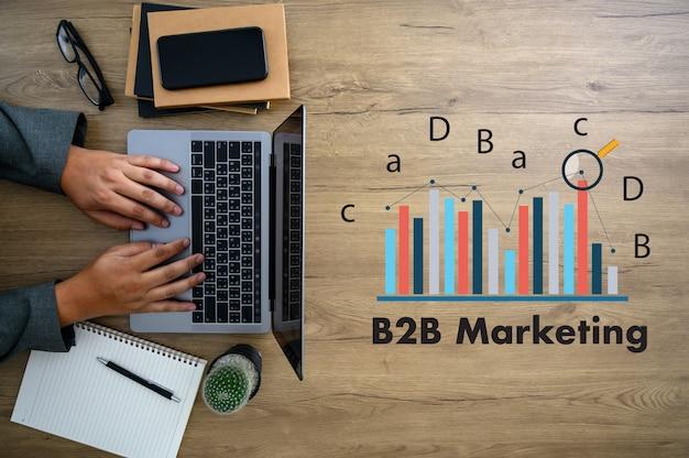 B2b marketing business para business marketing company indústria corporativa Foto Premium