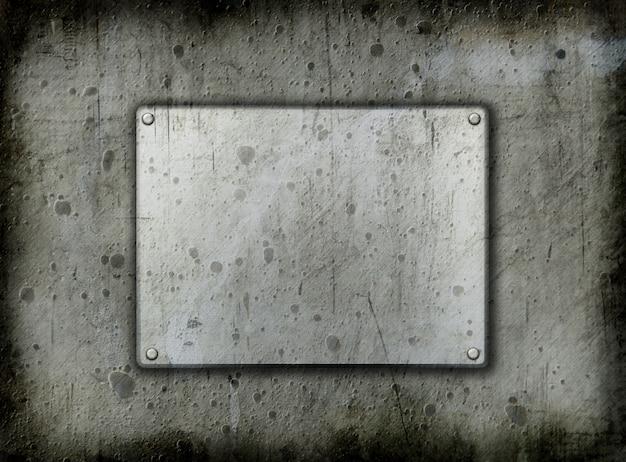 Backgrounddd de metal do grunge Foto gratuita