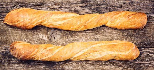 Baguetes francesas longas Foto Premium