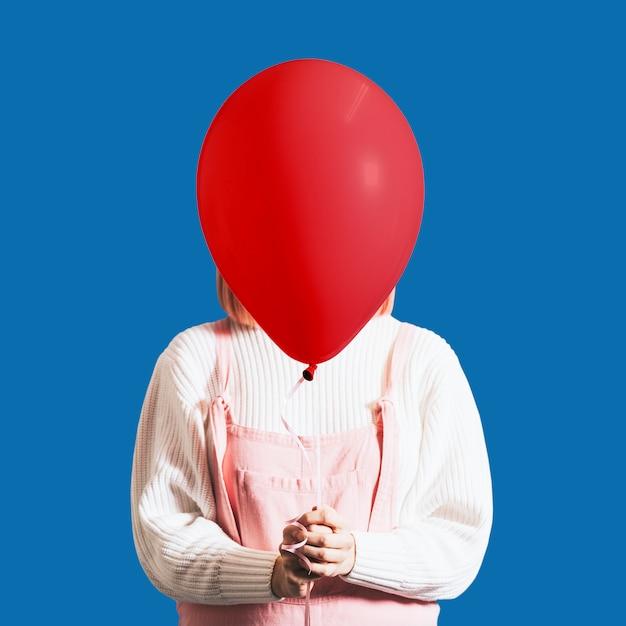 Balão de dia dos namorados Foto gratuita