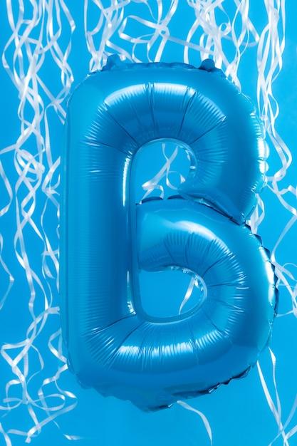 Balão em forma de carta Foto Premium