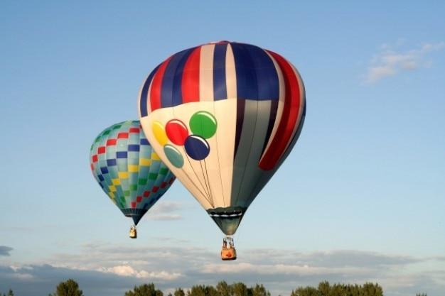 Balões de ar quente Foto gratuita
