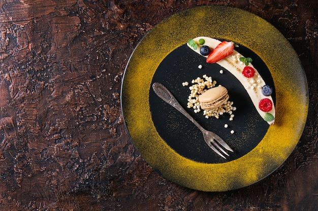 Banana de sobremesa Foto Premium