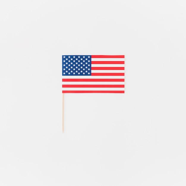 Bandeira americana, para, independência, dia Foto gratuita