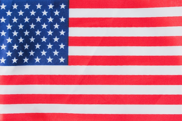 Bandeira americana plana Foto gratuita