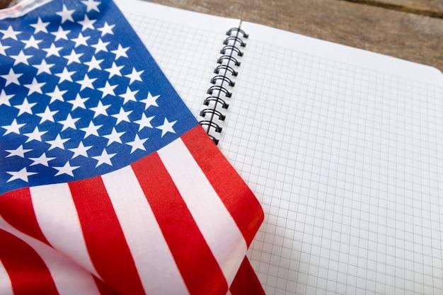 Bandeira americana Foto Premium