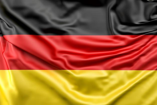 Bandeira da alemanha Foto gratuita