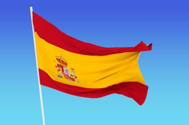 Bandeira da espanha Foto Premium