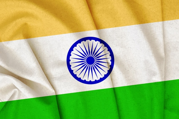Bandeira da índia Foto Premium
