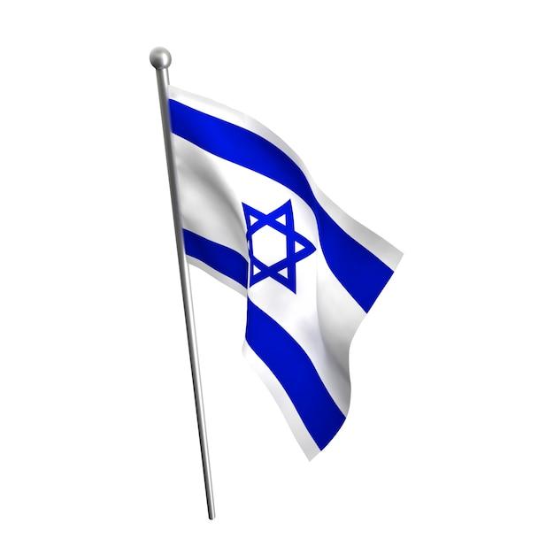 Bandeira de israel Foto Premium