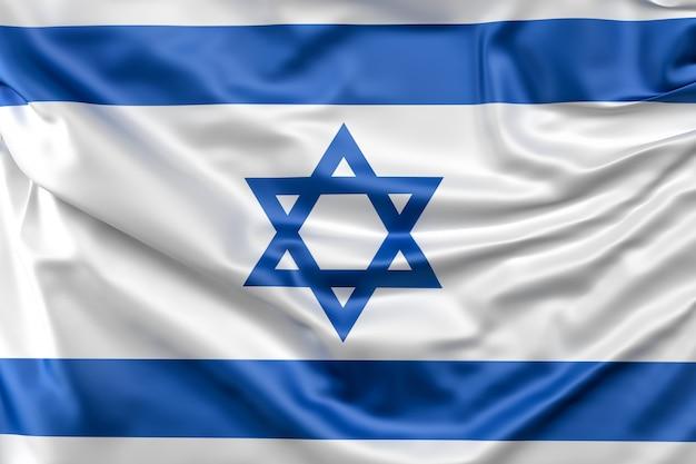 Bandeira de israel Foto gratuita