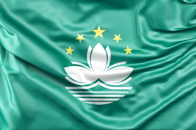 Bandeira de macau Foto gratuita