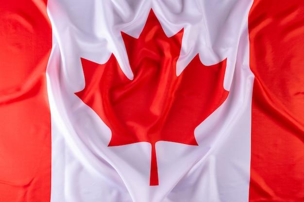 Bandeira do canada. feliz dia do canadá. dia da independência. 1 de julho Foto Premium