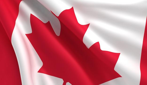 Bandeira do canadá Foto Premium