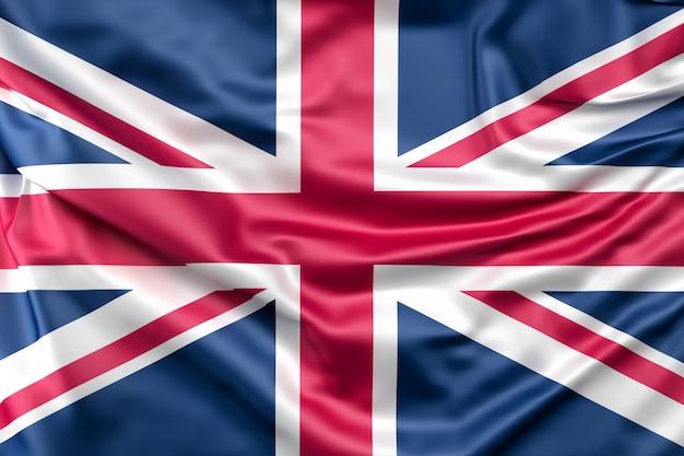 Bandeira do reino unido Foto gratuita