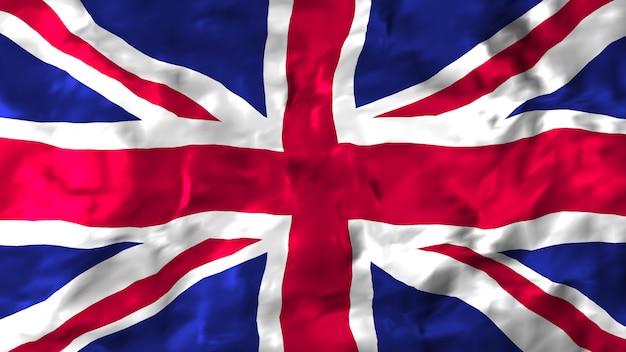 Bandeira do reino unido Foto Premium