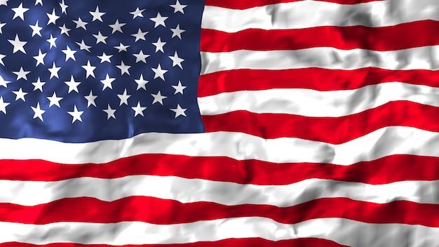 Bandeira dos estados unidos da américa Foto Premium