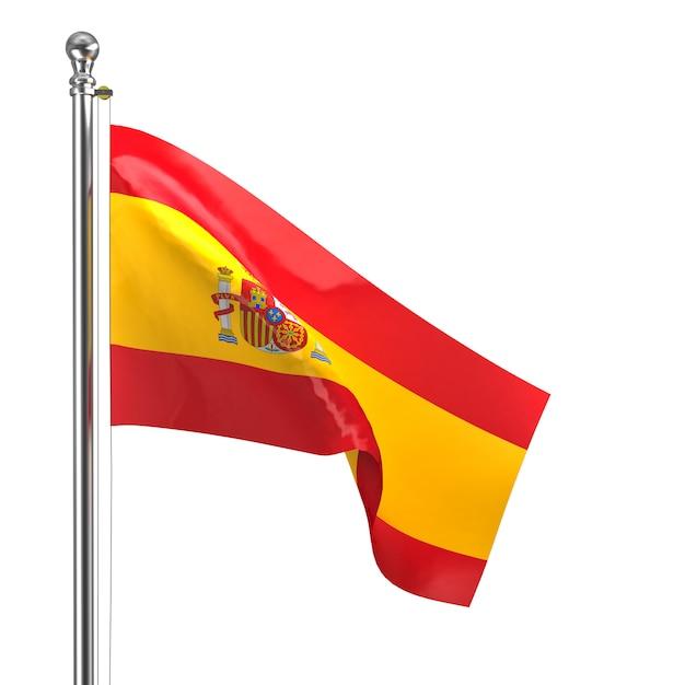 Bandeira espanhola Foto Premium