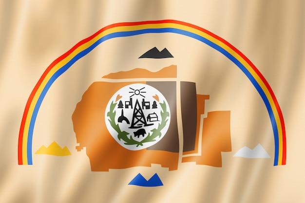 Bandeira étnica de pessoas navajo, eua Foto Premium