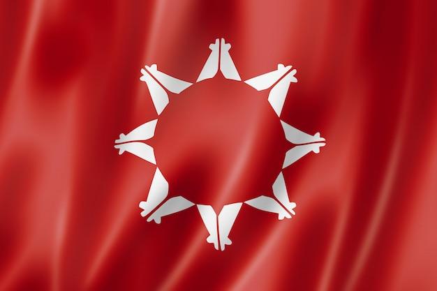 Bandeira étnica de pessoas sioux, eua Foto Premium