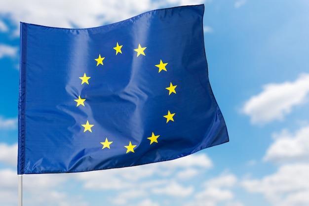 Bandeira europeia Foto Premium
