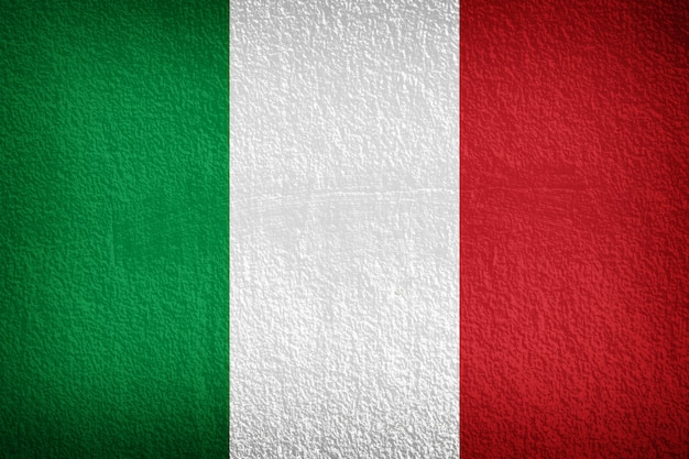 Bandeira italiana Foto Premium