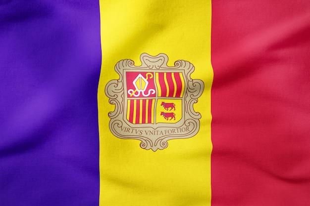 Bandeira nacional da moldávia - símbolo patriótico de forma retangular Foto Premium