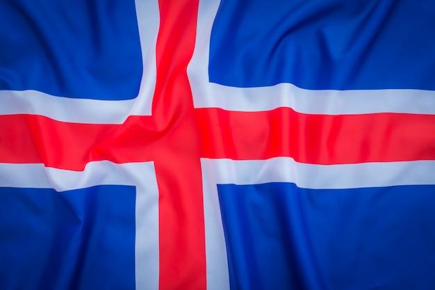 Bandeiras da islândia. Foto gratuita