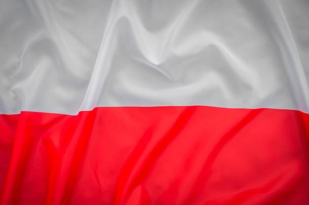 Bandeiras da polônia. Foto gratuita